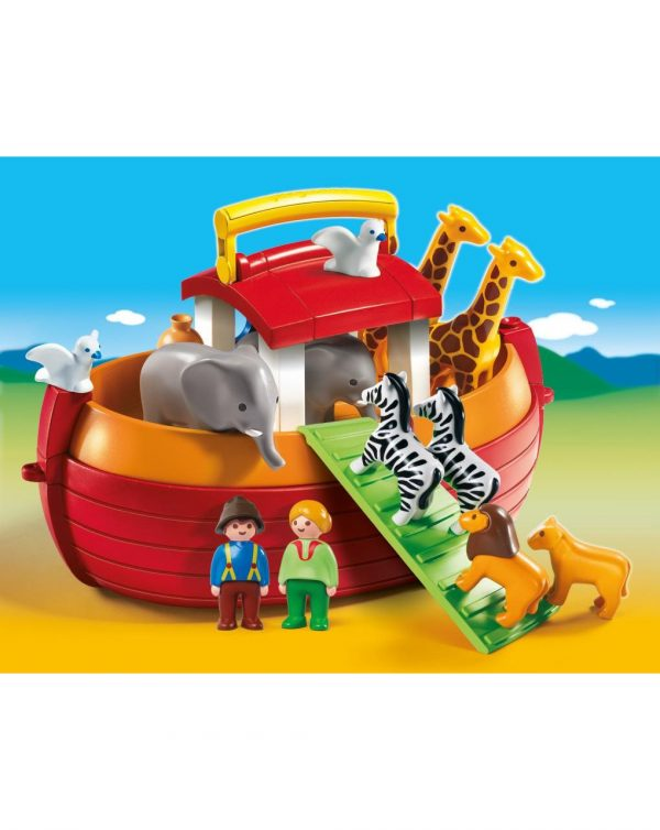 PLAYMOBIL - ARCA DI NOE' PORTATILE 1.2.3 - Playmobil