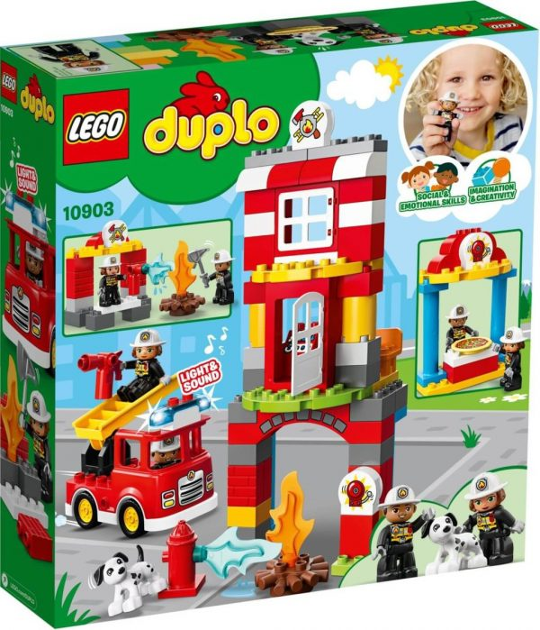 DUPLO - CASERMA DEI POMPIERI - Lego