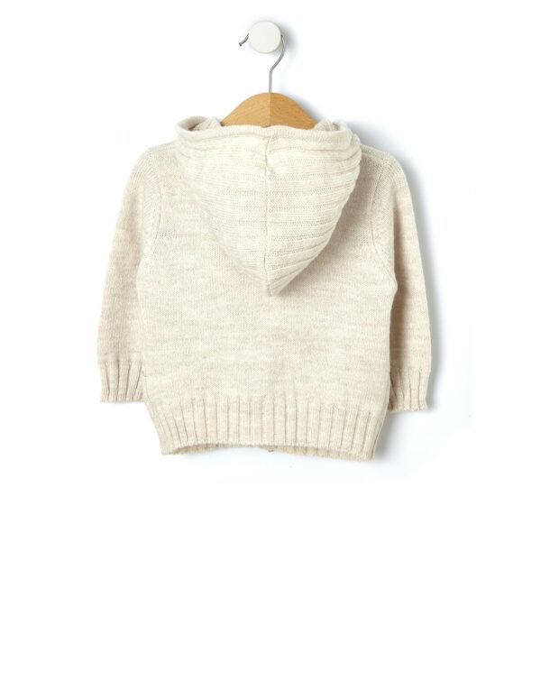 Cardigan tricot con cappuccio - Prénatal