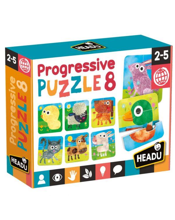 HEADU - PROGRESSIVE PUZZLE 8 - Headu