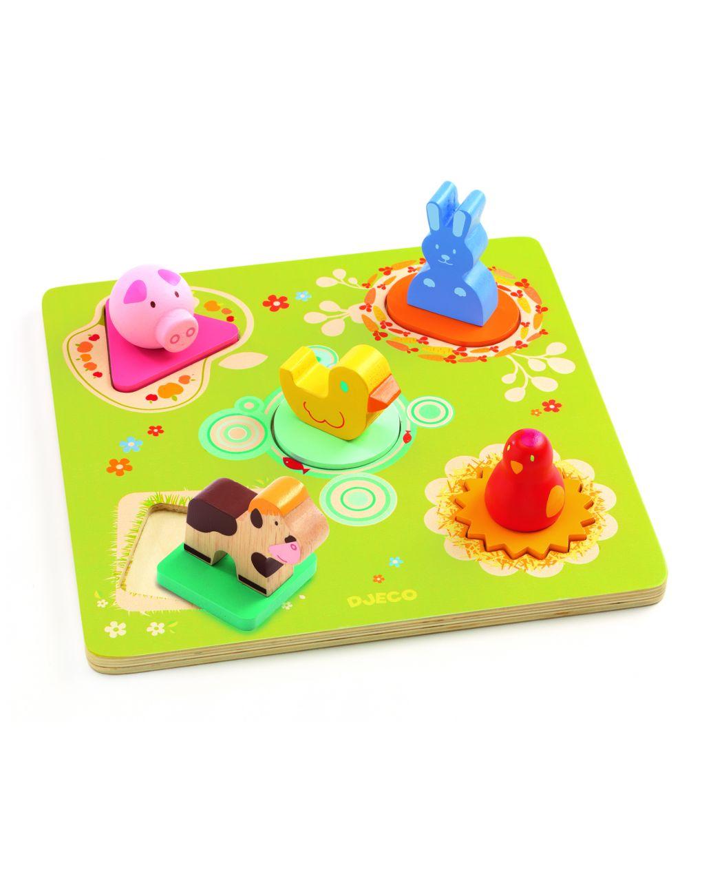 Djeco - bildi - puzzle legno - Djeco