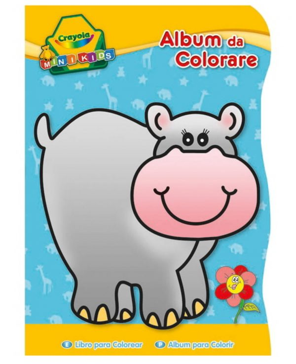 CRAYOLA - ALBUM DA COLORARE SAGOMATI MINI KIDS 3 SOGGETTI - Crayola