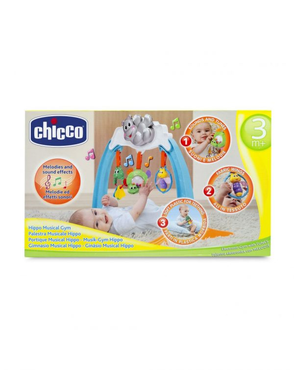 CHICCO - PALESTRA MUSICALE HIPPO - Chicco