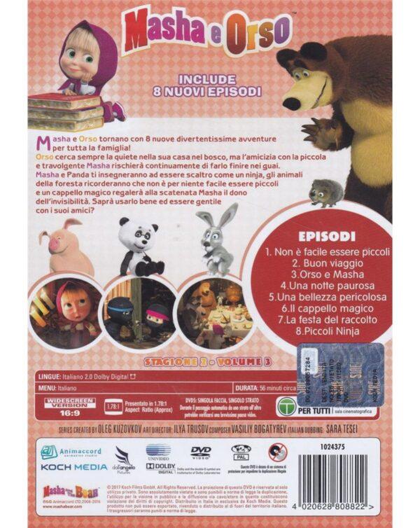 DVD MASHA E ORSO - STAGIONE 02 #03 - Video Delta