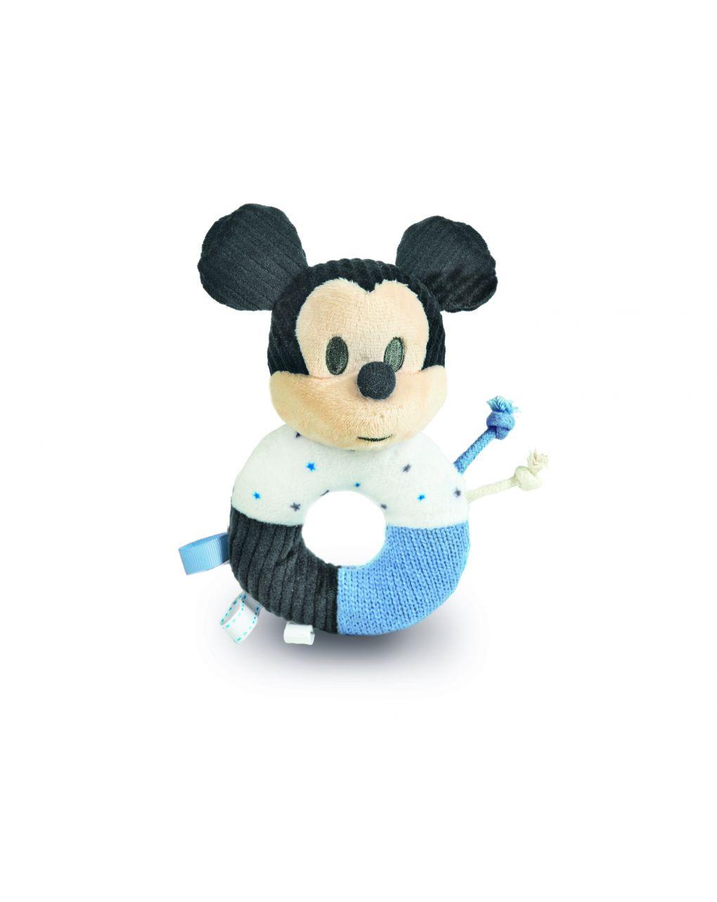 Disney baby - baby mickey morbido anello sonaglino - Clementoni