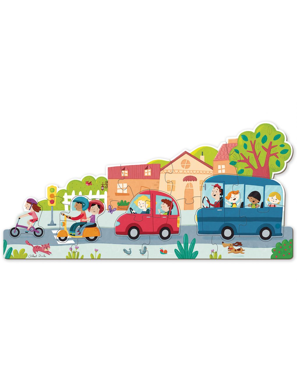 Goula - puzzle xxl veicoli - Goula