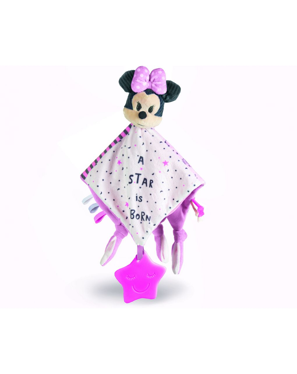 Disney baby - baby minnie morbida copertina - Clementoni