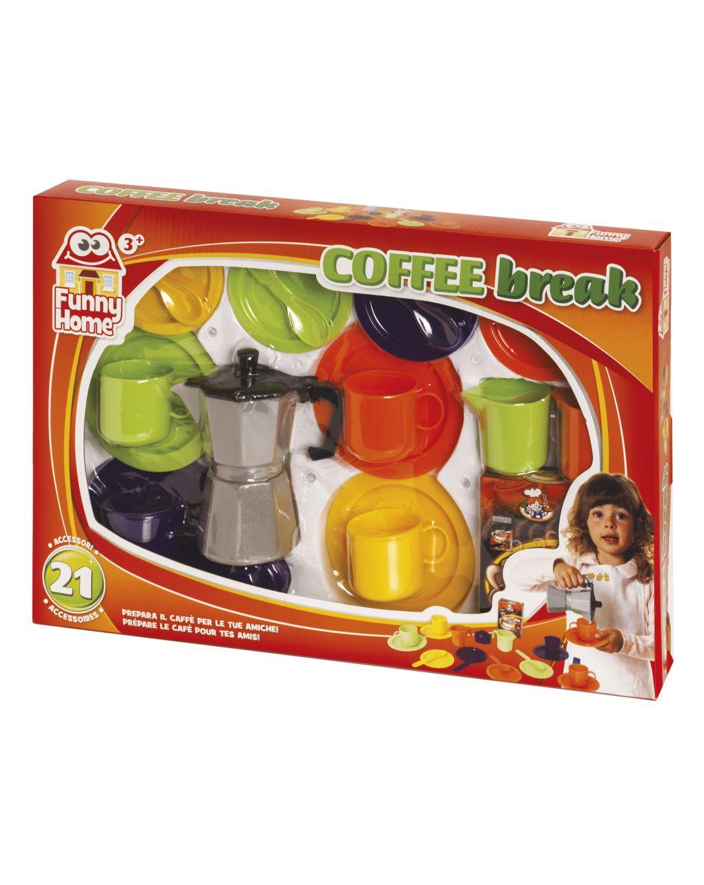 Funny home - set caffè 22 pz - FunnyHome