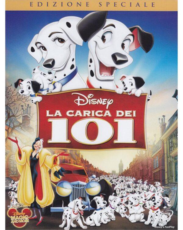 DVD LA CARICA DEI 101 - Disney