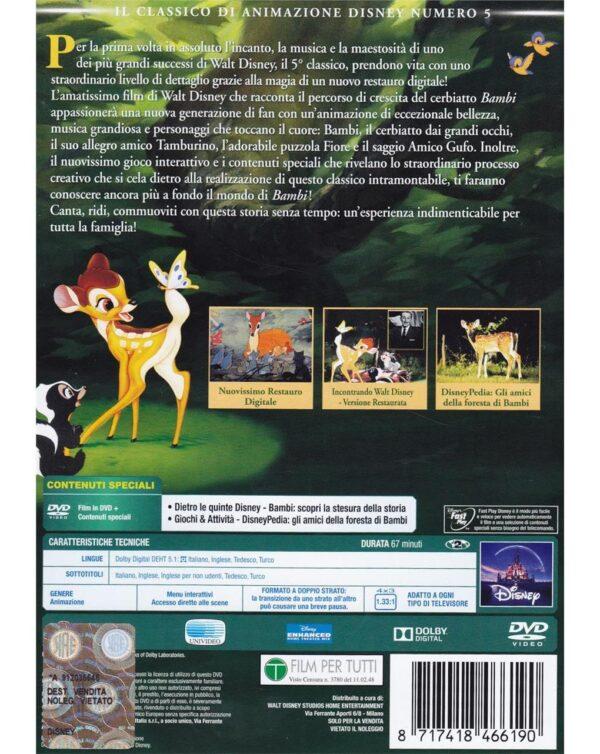 DVD BAMBI - Disney