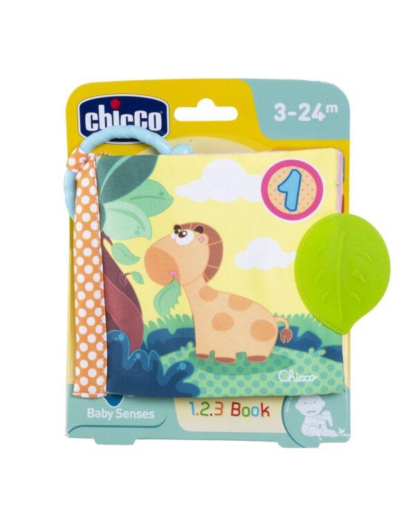 CHICCO - PRIMO GIOCO LIBRETTO SOFT 1-2-3 - Chicco