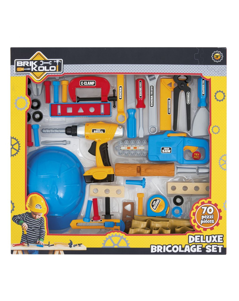Brikkolo - maxi set attrezzi bricolage - Brikkolo