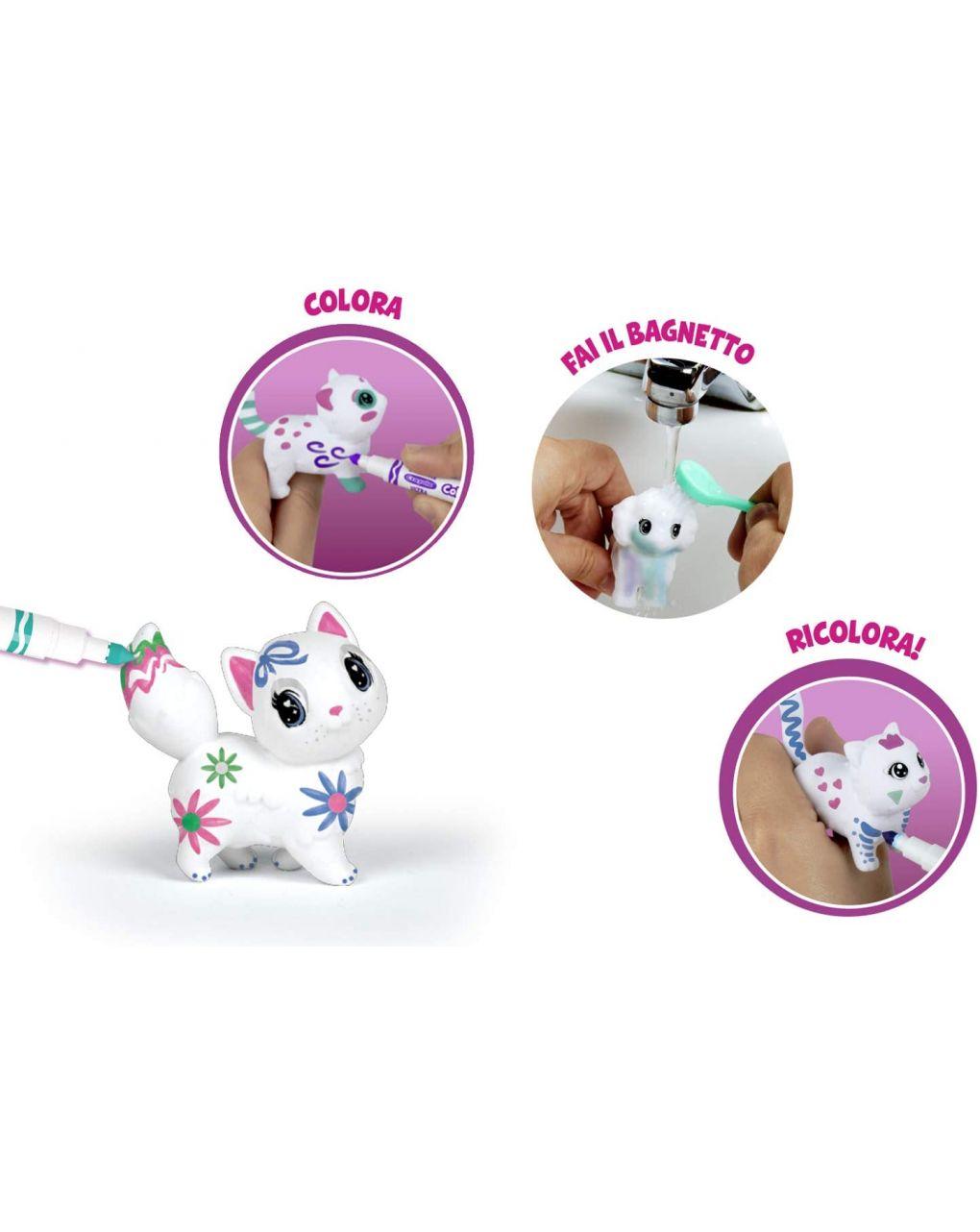 Crayola - washimals casetta dei cuccioli - Crayola