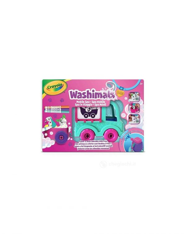 CRAYOLA - WASHIMALS SPA IN VIAGGIO - Crayola