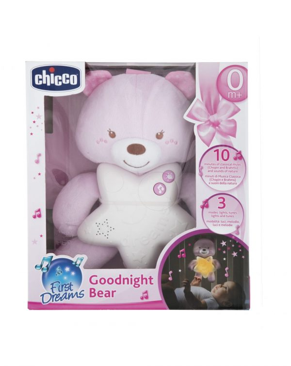 CHICCO - PANNELLO GOODNIGHT BEAR ROSA - Chicco