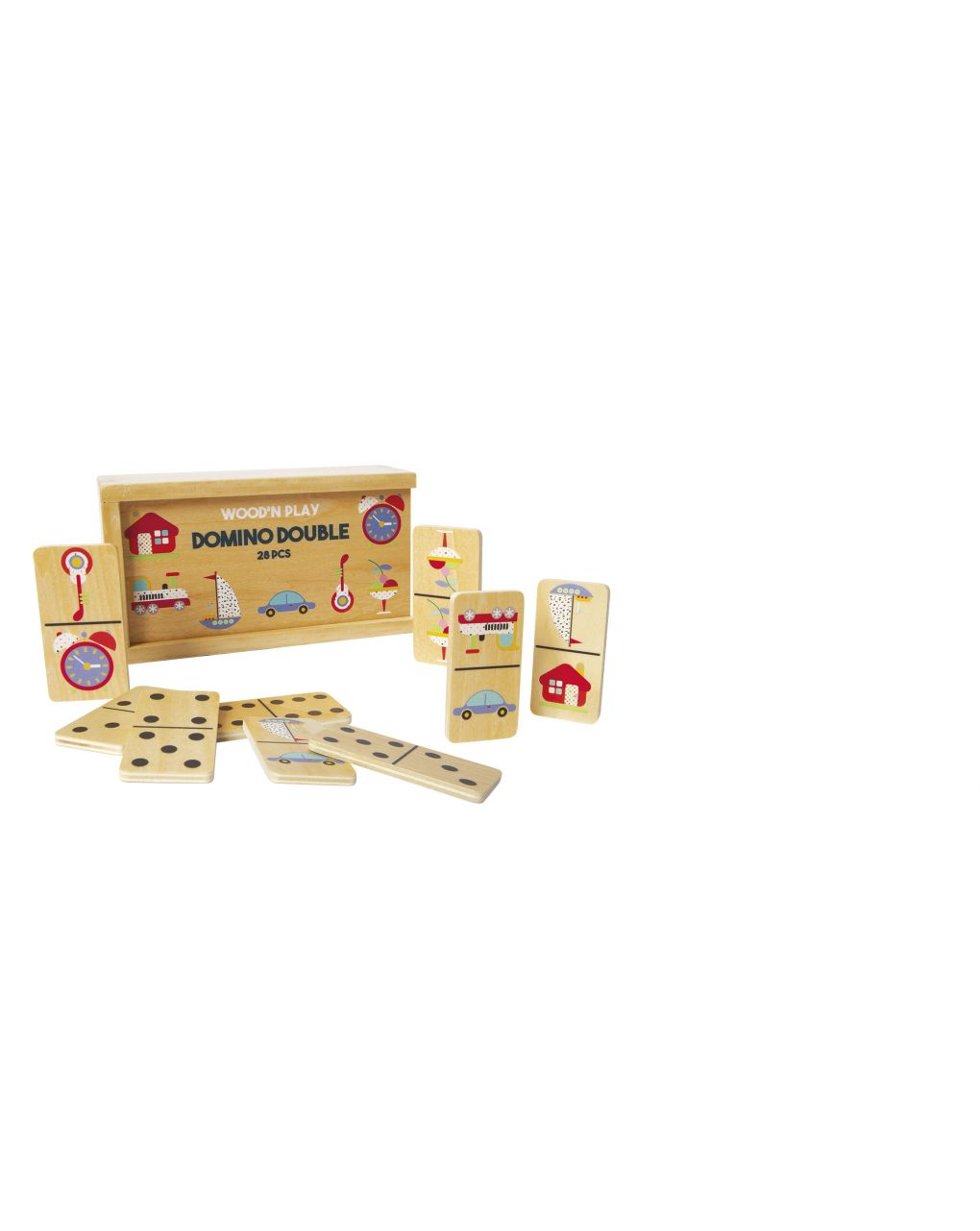 Wood'n play - domino double face - Wood'N'Play