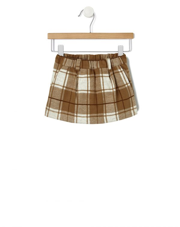 Mini gonna pantaloncino tartan - Prénatal
