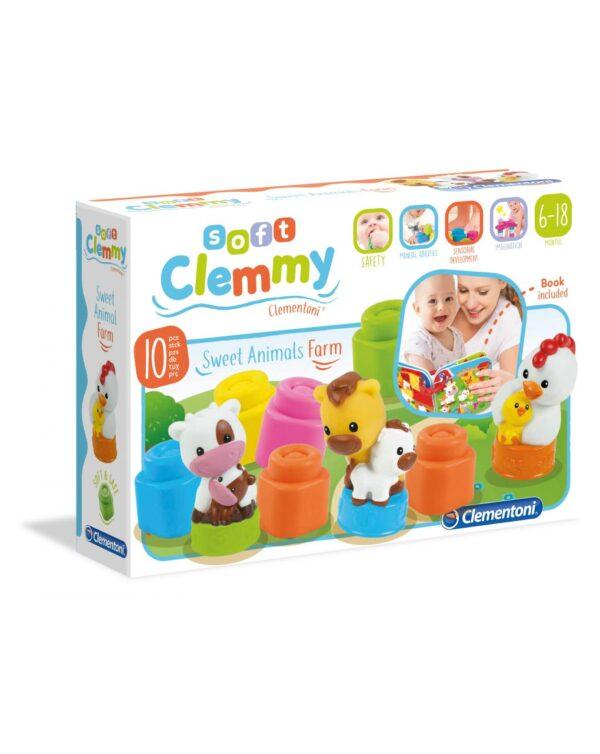 CLEMMY - MAMMA E CUCCIOLI DELLA FATTORIA - Clementoni