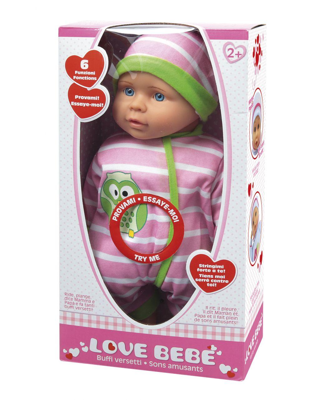 Love bebe' - bebè fa versetti buffi - Love Bebè