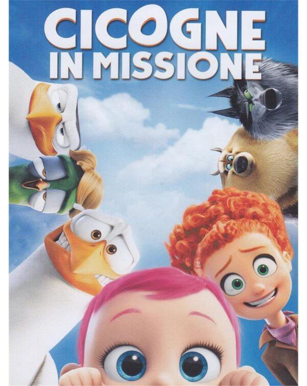 DVD CICOGNE IN MISSIONE - Video Delta