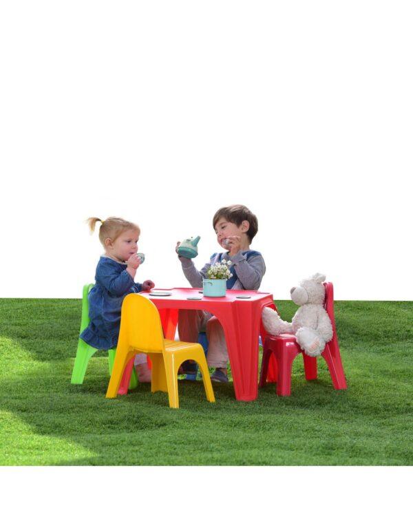 SUN&SPORT - SET SIT&PLAY 1 TAVOLO E 4 SEDIE - Prénatal