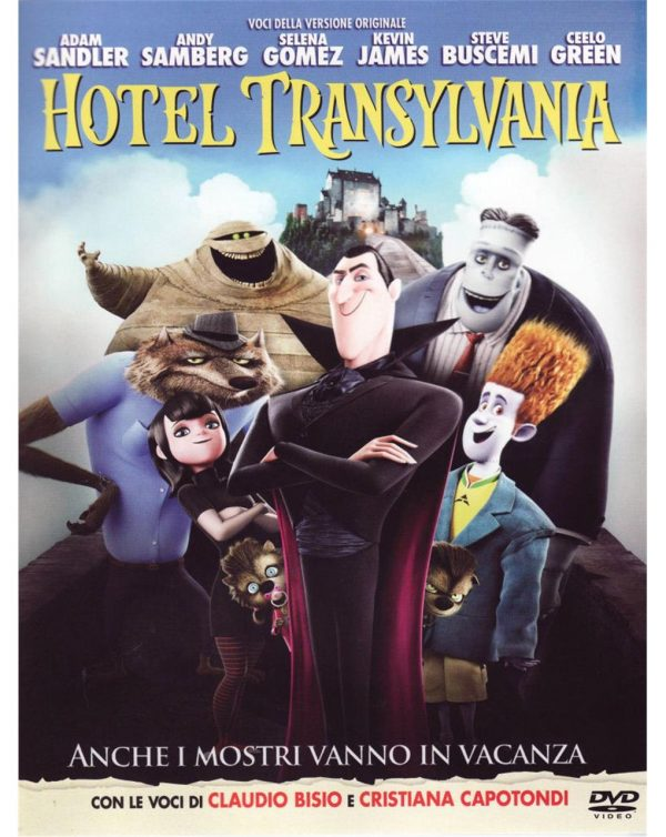 DVD HOTEL TRANSYLVANIA - Video Delta