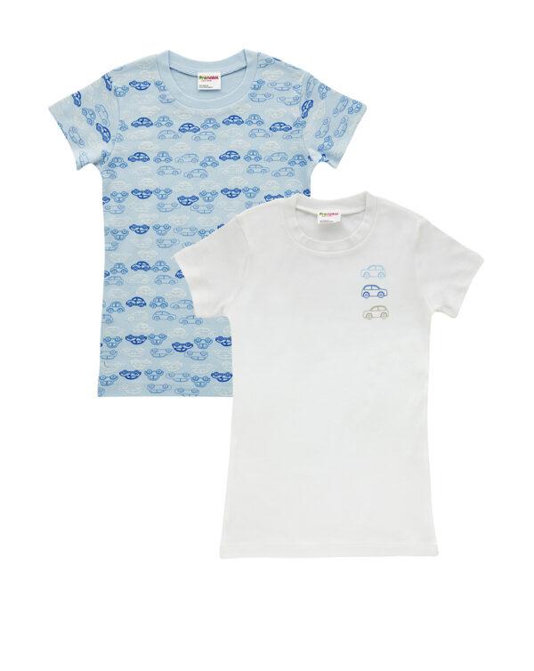 Pack 2 T-shirt con stampa auto - Prénatal