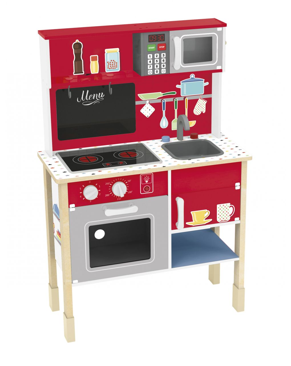 Wood'n play -cucina home cooking - Wood'N'Play