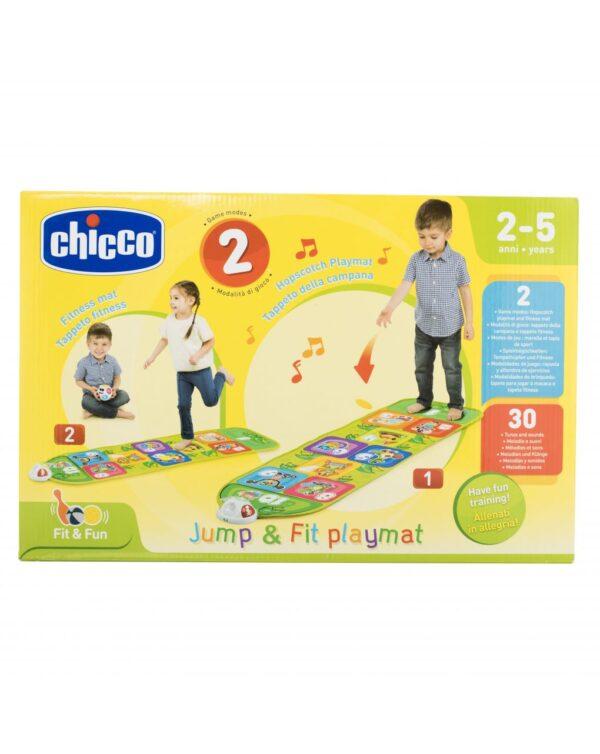 CHICCO - GIOCO SPORTIVO TAPPETO MUSICALE JUMP&FIT - Chicco
