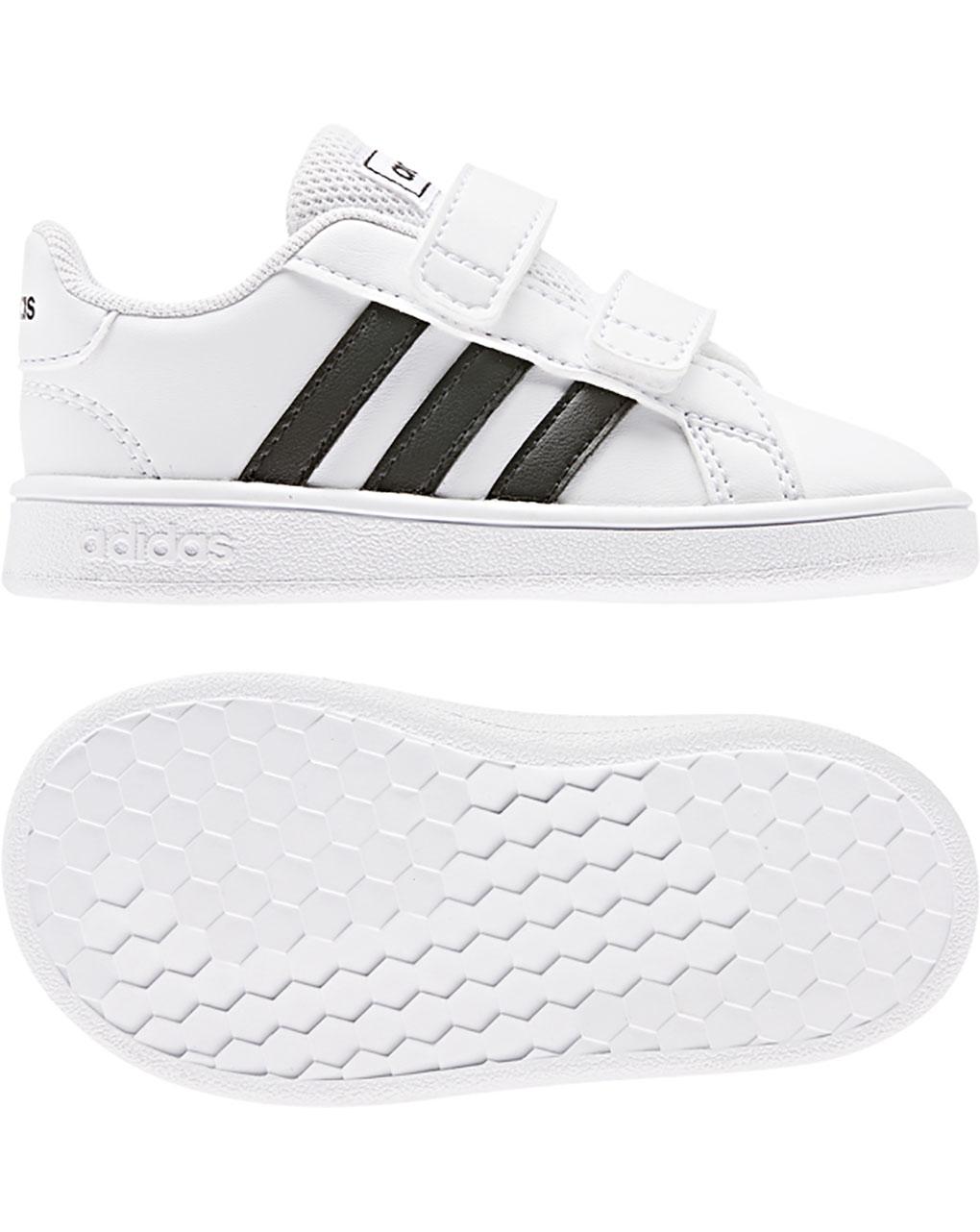 Adidas sneaker baby unisex lifestyle chiusura a strappo - Adidas