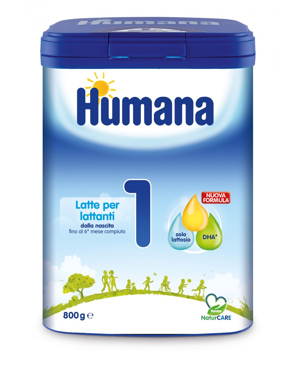Humana – latte humana 1 polvere 800g - Humana