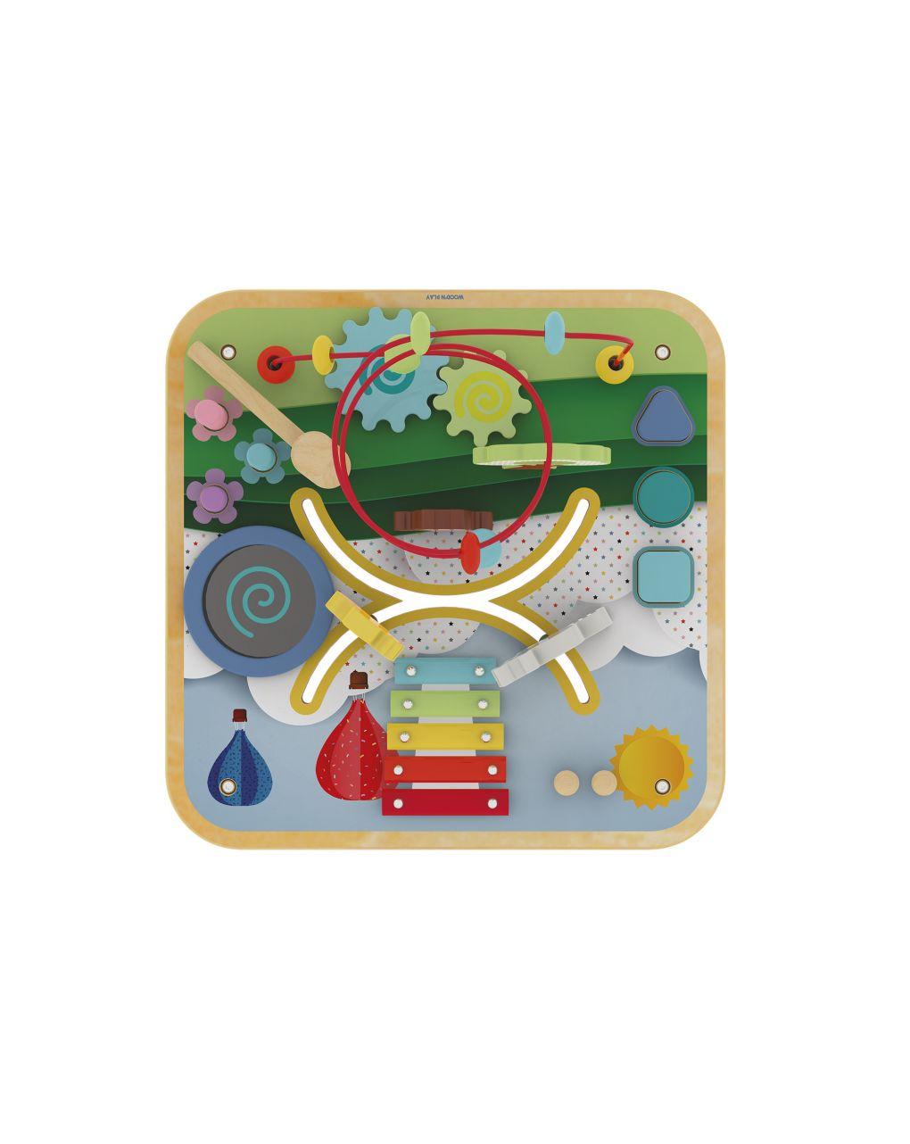 Wood'n play -tavolo gioco multiattività - Wood'N'Play