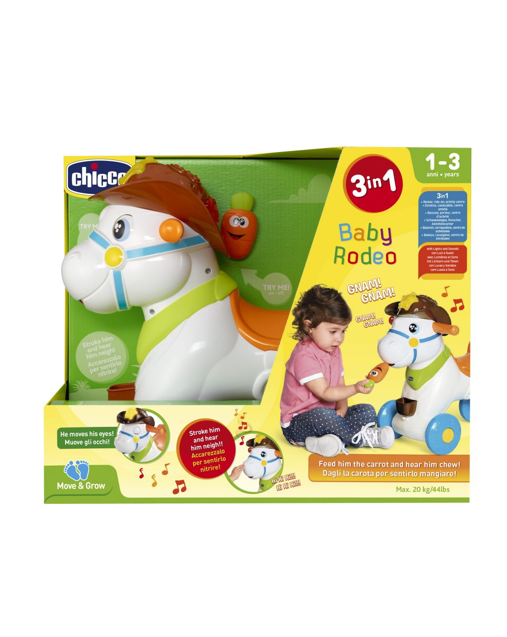 Chicco - cavalcabile baby rodeo - Chicco