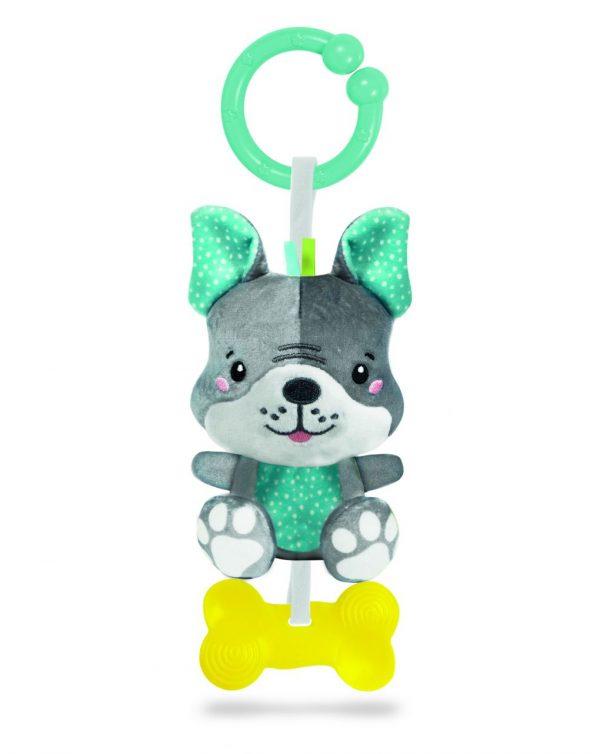 BABY CLEMENTONI - LOVELY DOG RATTLE - Clementoni