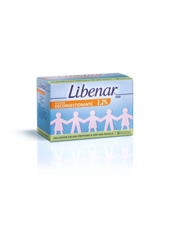 LIBENAR iper MONODOSE 18 FL da 5 ml - Libenar