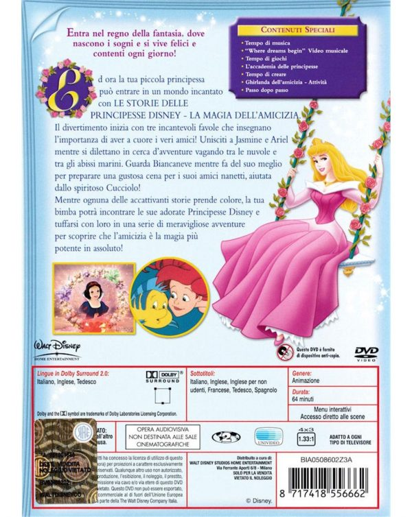 DVD STORIE DI PRINCIPESSE DISNEY #02 - Disney
