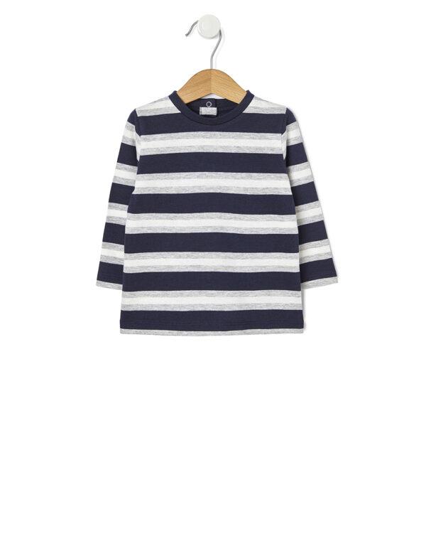 T-shirt in cotone con fantasia a righe - Prénatal