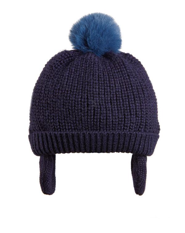 Cappellino in lana con pon pon pelo - Prénatal