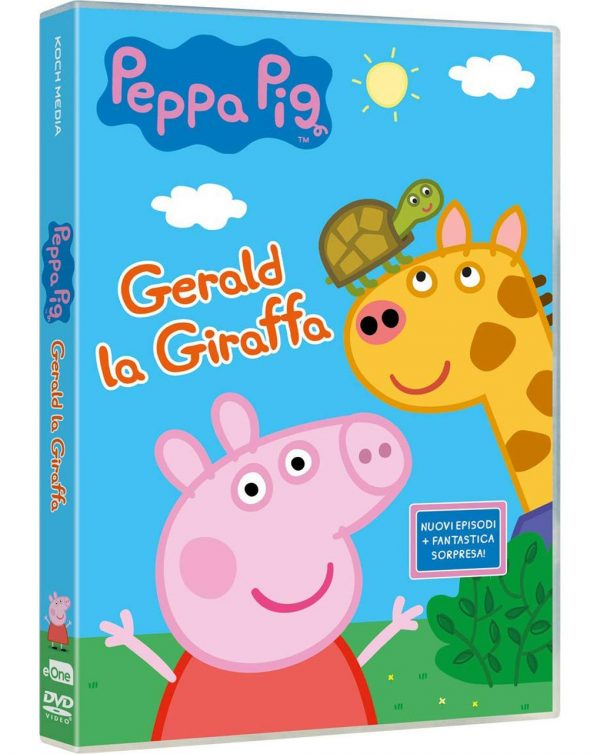 DVD PEPPA PIG - GERALD LA GIRAFFA - Video Delta