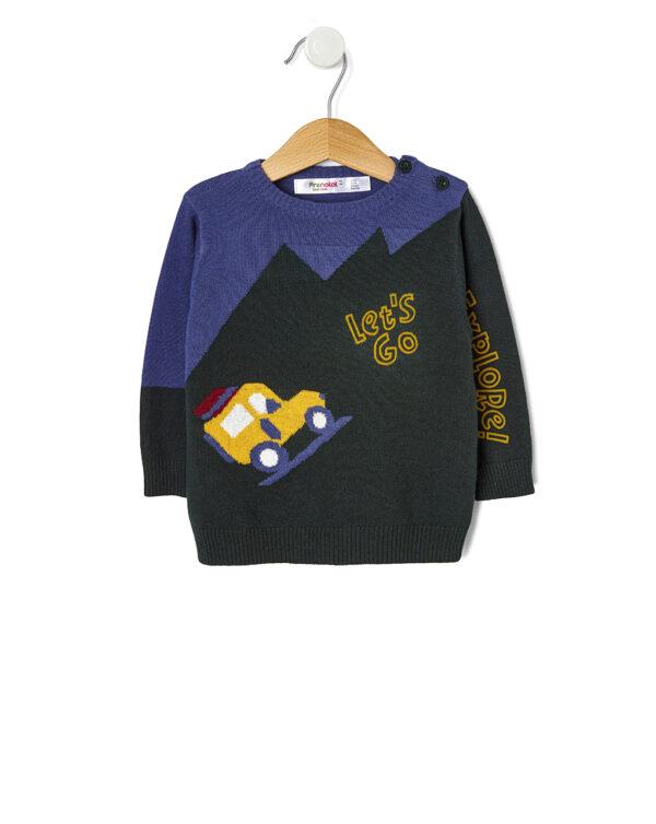Maglia tricot con stampa jeep - Prénatal