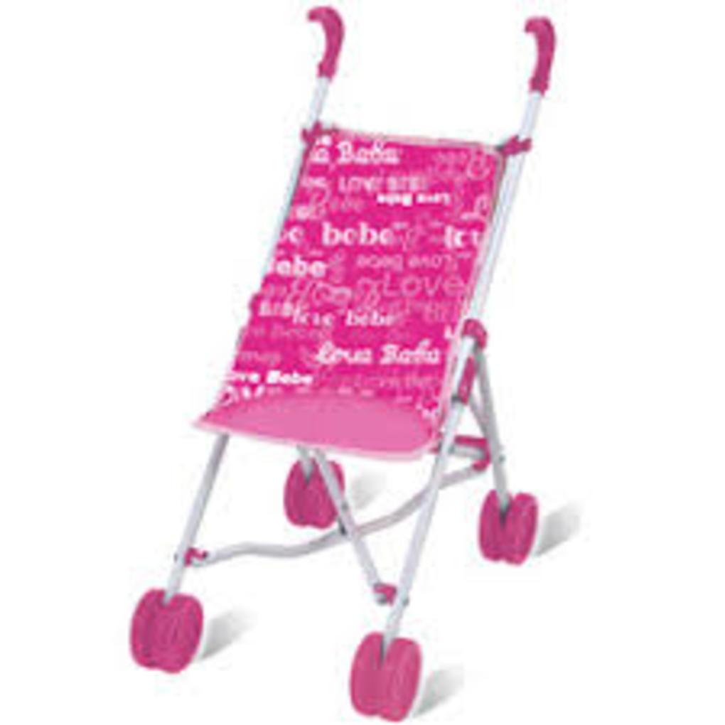 Love bebe' - passeggino in metallo con bambola soft - Love Bebè