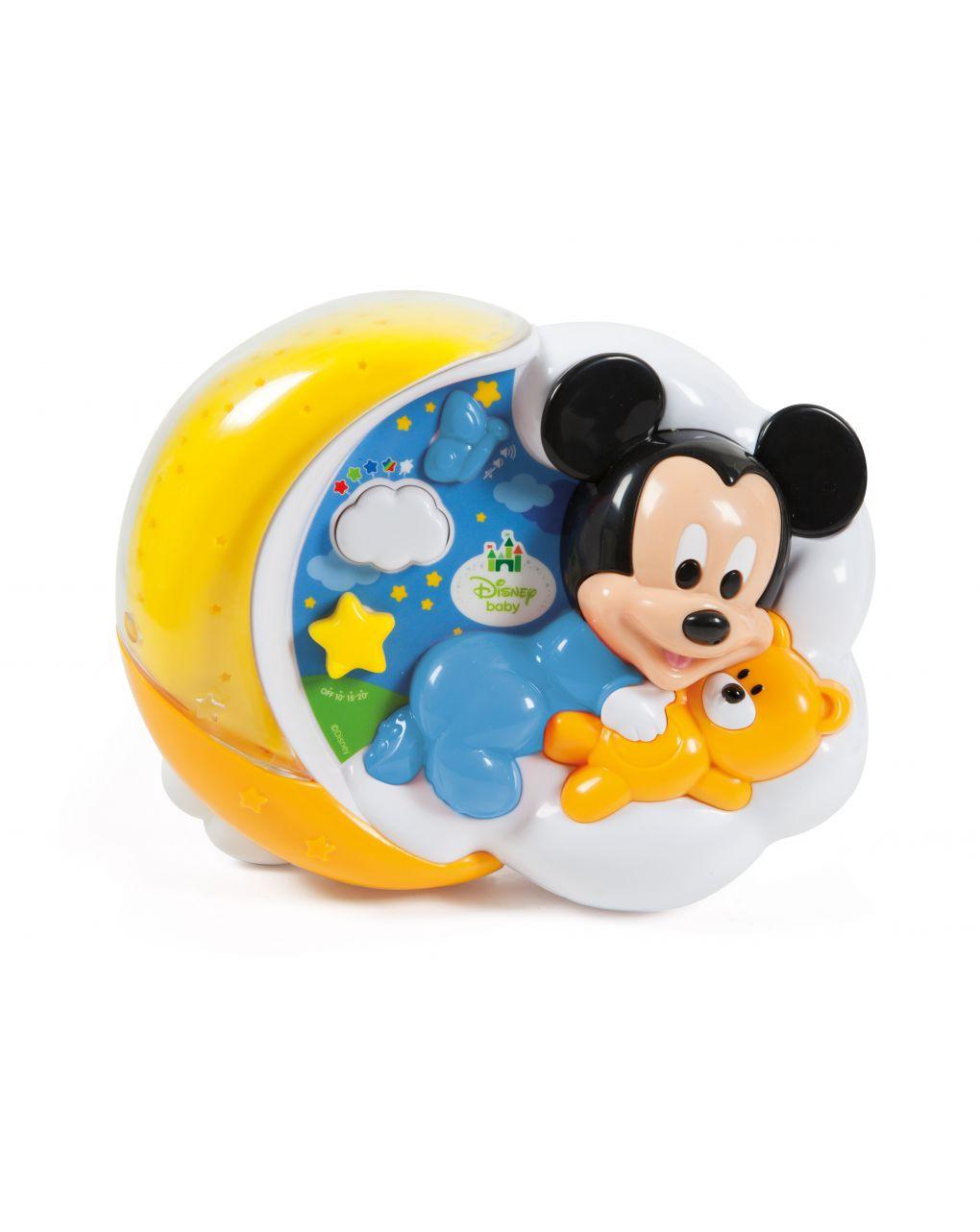 Disney baby - baby mickey proiettore magiche stelle - Clementoni