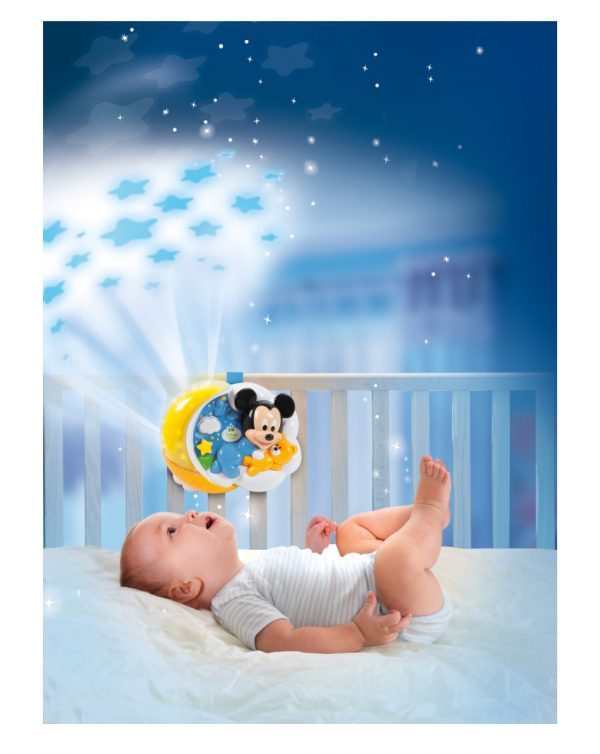 DISNEY BABY - BABY MICKEY PROIETTORE MAGICHE STELLE - Clementoni