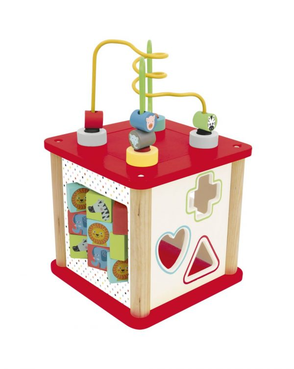 WOOD'N PLAY - CUBO MULTIATTIVITA' - Wood'N'Play
