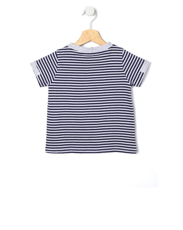 T-shirt millerighe - Prénatal