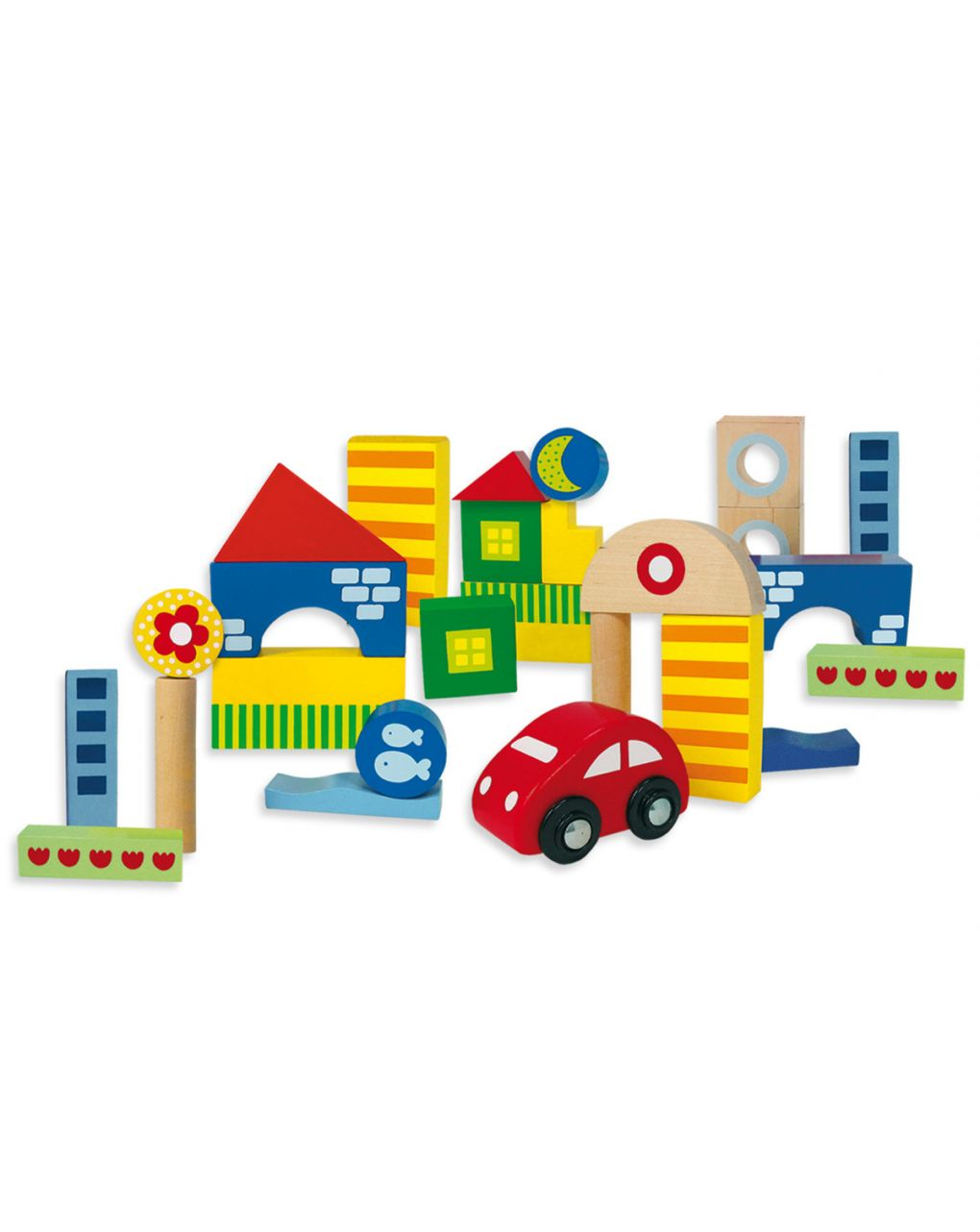 Goula - scatola costruzioni 25 pz. + macchina - Goula