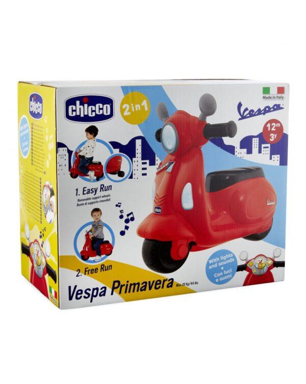CHICCO - CAVALCABILE VESPA PRIMAVERA ROSSO - Chicco