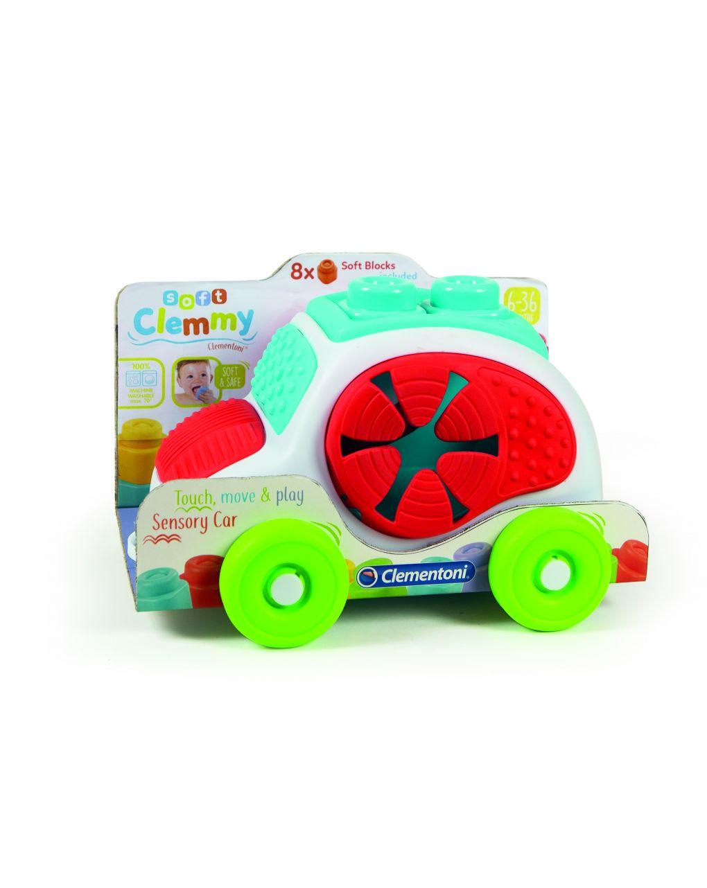 Clemmy - tocca, scopri e guida macchinina sensoriale - Clementoni