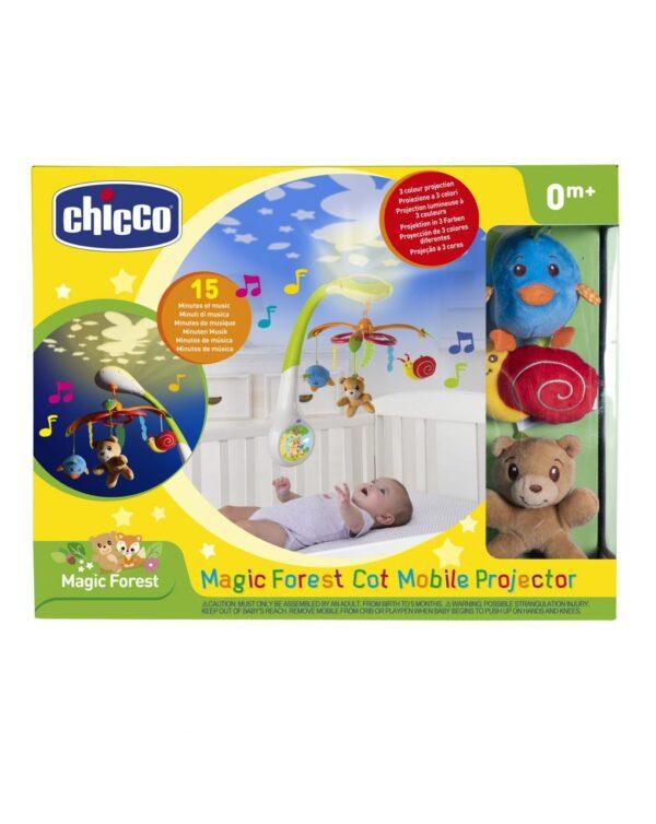 CHICCO - GIOSTRINA FORESTA MAGICHE PROIEZIONI - Chicco