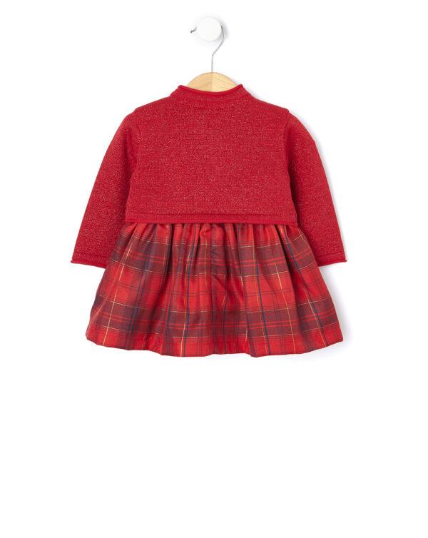 Set 2 pezzi abito e cardigan tricot - Prénatal